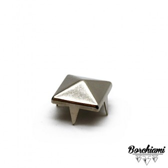 Borchia Piramide Metal (10x10mm) Alette