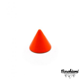 Cone-shaped Coloured Screw Stud (8x7mm)