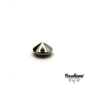 Borchia Cono Metal (9mm) Rivetto