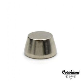 Borchia Tronco di cono Metal (12x7mm) Vite