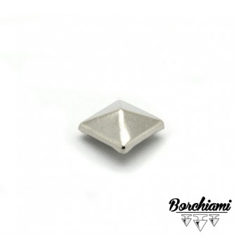 Borchia Piramide Metal (10x10mm) Rivetto