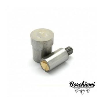 Magnetic Pyramid-shaped Punch Tool (9x9mm) Rivet