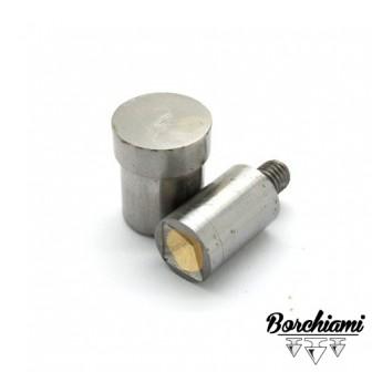 Magnetic Pyramid-shaped Punch Tool (10x10mm) Rivet