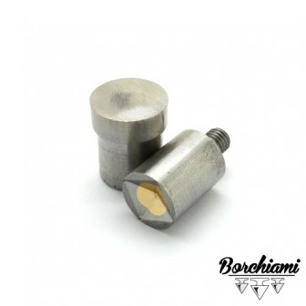 Punzone magnetico per piramide (12x12mm) Rivetto