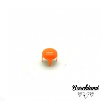 Coloured Dome-shaped Claw Stud (7mm)