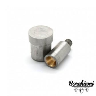 Punzone magnetico per tronco di cono (10x6mm) Rivetto