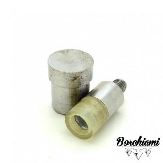 Punzone gommato per cono bombato (10mm) Rivetto