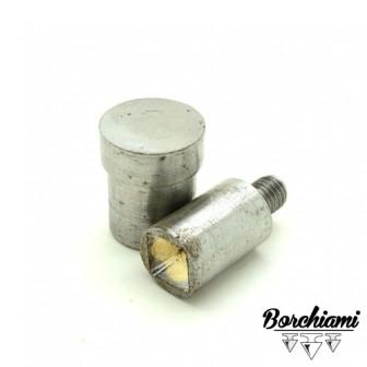 Punzone magnetico per piramide bombata (10x10mm) Rivetto