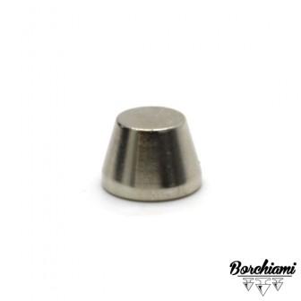 Borchia Tronco di cono Metal (10x7mm) Vite