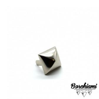 Convex Pyramid-shape Split Pin Stud (21x21mm)