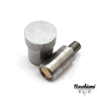 Punzone magnetico per borchia piatta (10mm) Rivetto