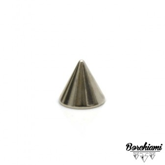 Borchia Cono Metal (8x7mm) Vite