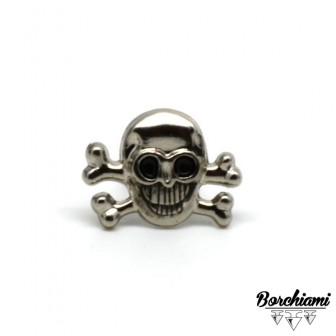 Skull Split Pin (18x13mm)