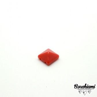 Plastic Stitch Pyramid-shape Studs (10x10mm)
