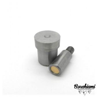 Punzone magnetico per borchia piatta (8mm) Rivetto
