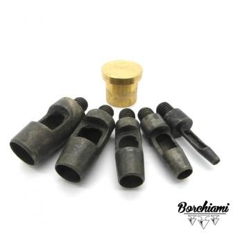 Kit Punzone per buco (3-6-8-10-12mm)