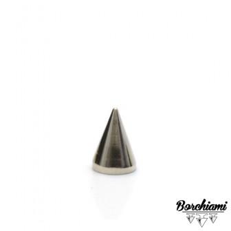 Borchia Cono Metal (7x10mm) Vite