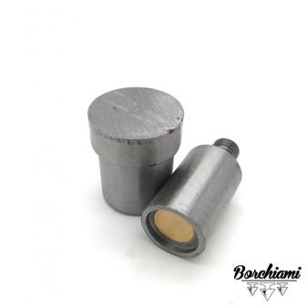 Punzone magnetico per borchia piatta (12mm) Rivetto
