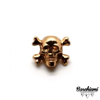 Skull Split Pin (15x12mm)