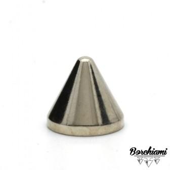 Borchia Cono Metal (12x11mm) Vite